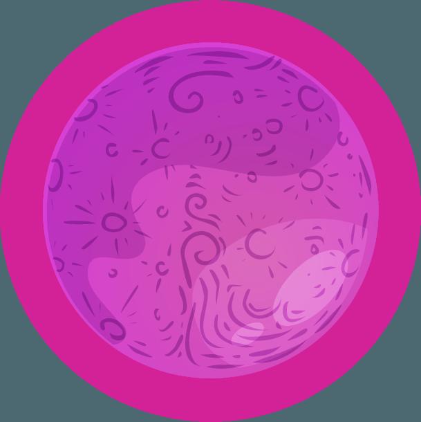 Lila Bolygó