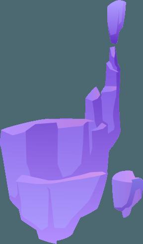 Lila szikla