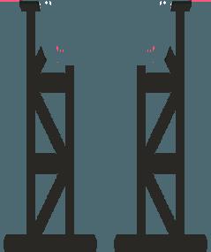 Űrhajó állvány